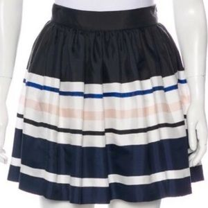 Kate Spade Striped Cupcake Navy Skirt